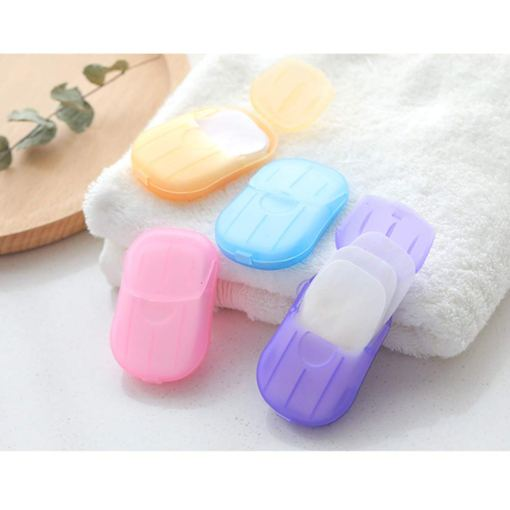 Disposable Soap Tablets Portable Hand Washing Tablets