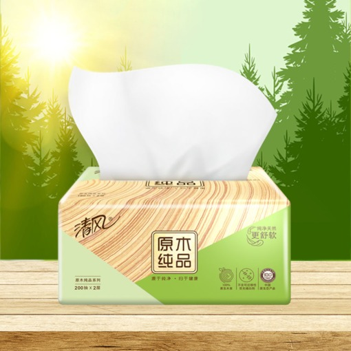 24 Packs Facial Tissue Soft Facial Paper Household Kleenex Toilet Paper Soft Skin-Friendly Paper Towels