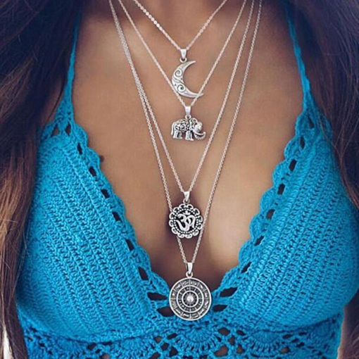 Pendant Necklace E-Plating Vintage Women Necklaces