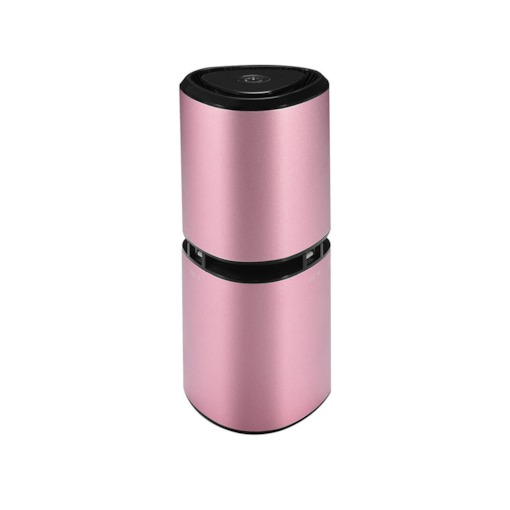 Metal Shell Anion Car Air Purifier with 2 USB Charger