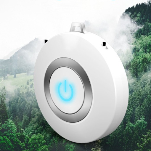 DC5V Formaldehyde Removal Anion Air Purifier with Necklace Style