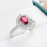 Romantic Diamante Holiday Rings