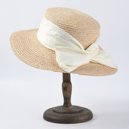 Sweet Straw Hat Straw Plaited Article Summer Hats