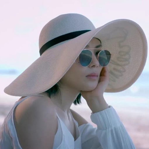 Casual Straw Hat Straw Plaited Article Summer Hats