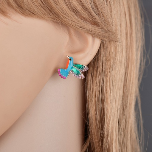 Sweet Animal Diamante Gift Earrings