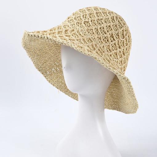 Straw Plaited Article Straw Hat Casual Plain Hats