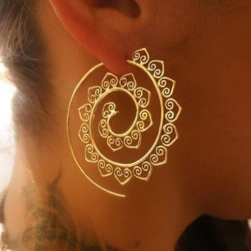 Sweet Alloy Hollow Out Gift Earrings