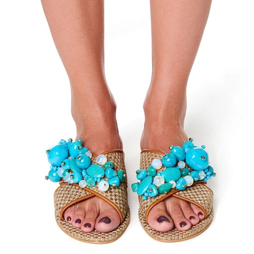 Cross Slip-On 3D Flat With Beach Slippers