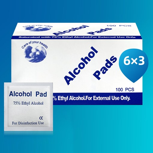 Box-Packed Skin Alcohol Disinfection Wipes
