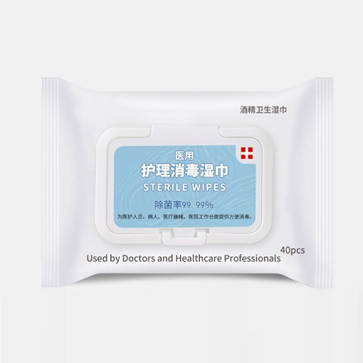 Skin Computer Screen Kitchen 10 Pieces Alcohol Disinfection Wipes