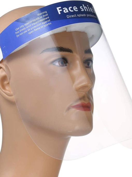 Transparent Head-Mounted Splash-Proof Anti-Fog Anti-Fog Eye Protection Safety Isolation Protective Mask