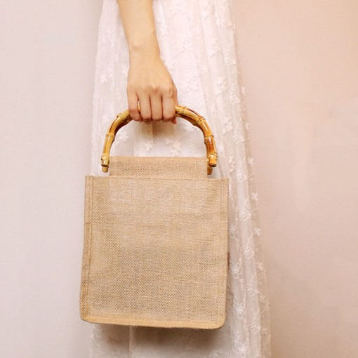 Plain Tote Bags Casual Travel Cotton Bags