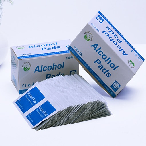 Box-Packed Glass Computer Screen Alcohol Disinfection Wipes