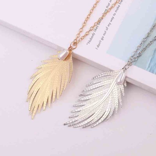 Female E-Plating Sweet Pendant Necklace Female Necklaces