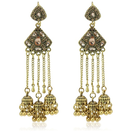 Diamante Alloy Vintage Anniversary Earrings