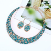 Fashion Earrings Romantic Diamante Party Jewelry Sets