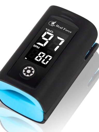 Household Use Convenient Easy To Carry Black Oximeter