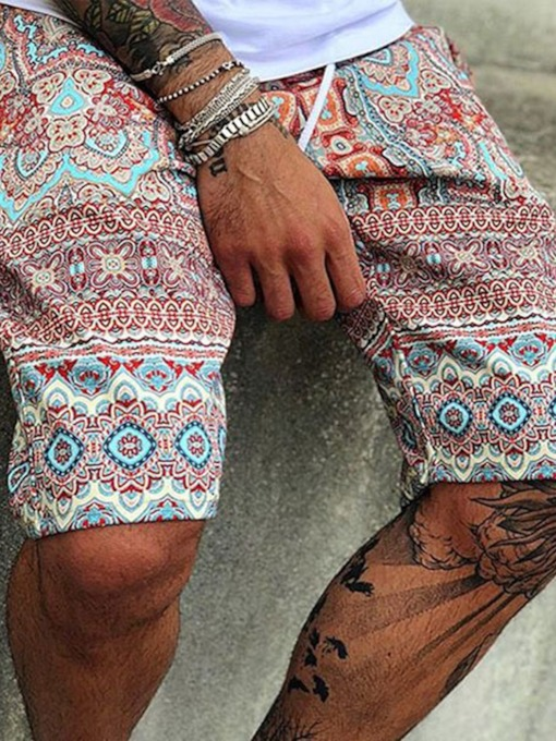 Print Summer Men's Casual Pants