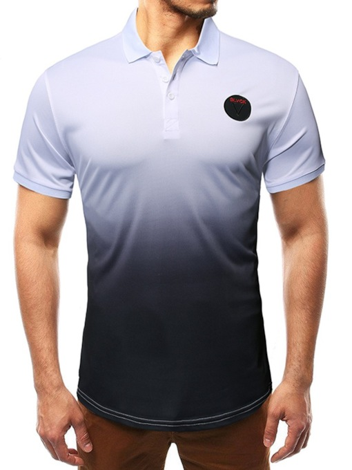 Summer Casual Men's Short Sleeves Polo Shirt