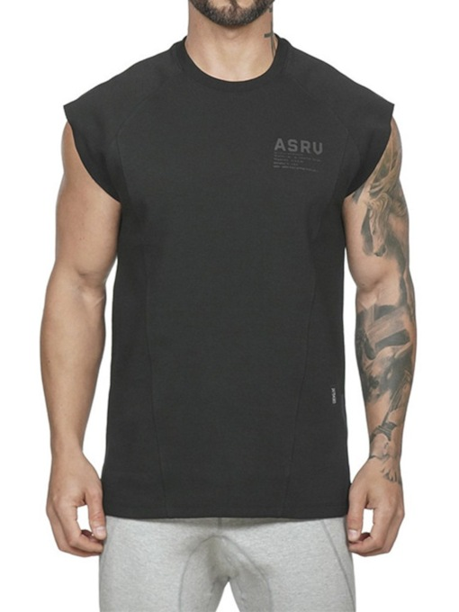 Short Sleeves Casual Round Neck Short Sleeve Men's T-shirt