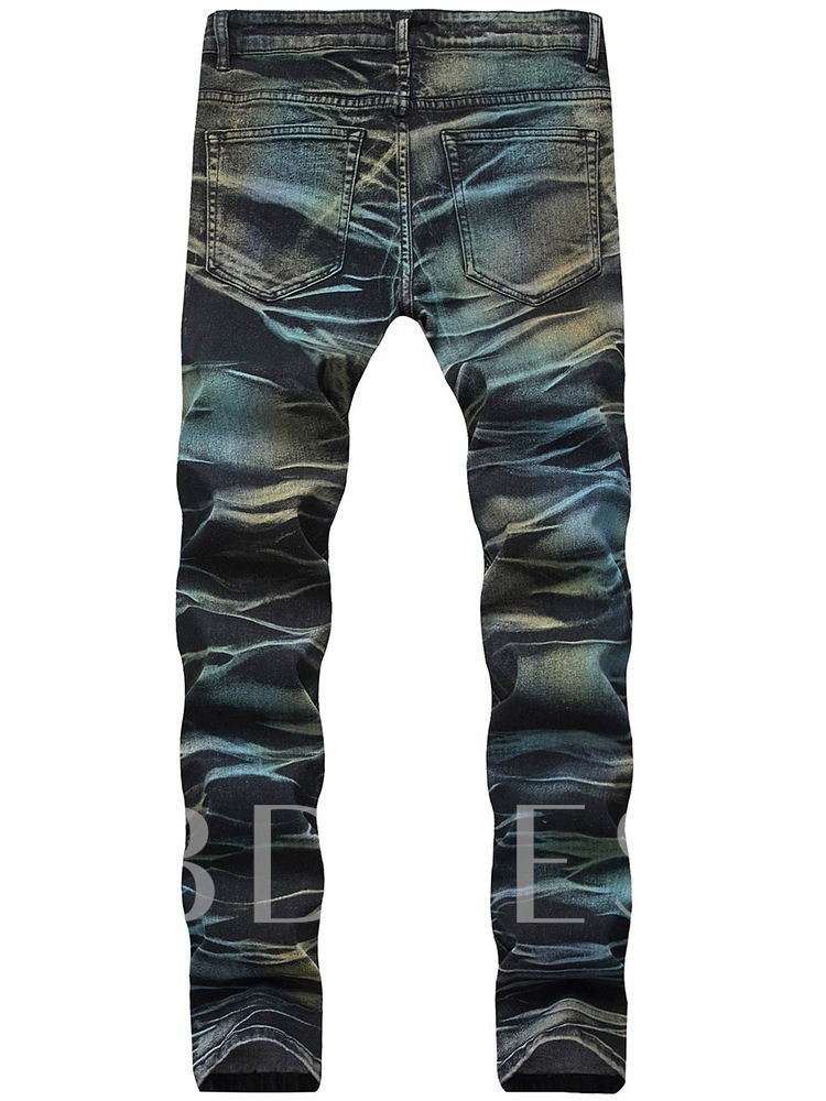 Denim Slim Casual Men's Jeans