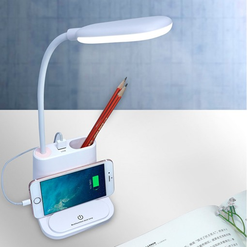 Multifunctional Desktop Lamp Student Eye Protection Reading Lamp Rechargeable Night Light