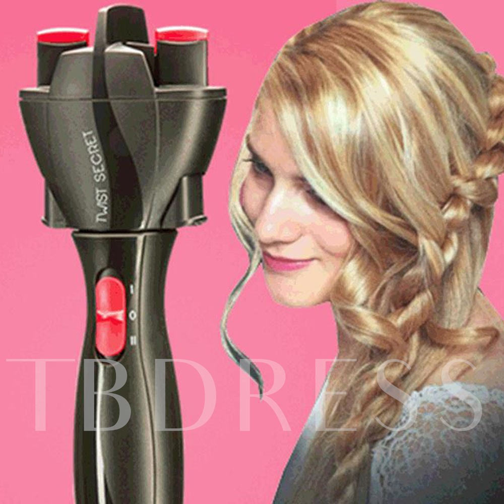 Hair Curlers & Straighteners Braided Ladies and children's Electric Lazy Automatic Hair Braid
