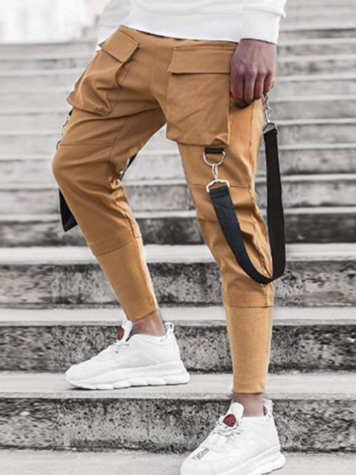 Slim Ankle Length Casual Men's Casual Pants