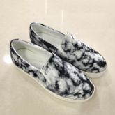 Flat With Thread Slip-On Round Toe Low-Cut Upper Thin Shoes