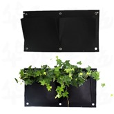 Wall Mounted Green Plants Cultivation Grow Bags