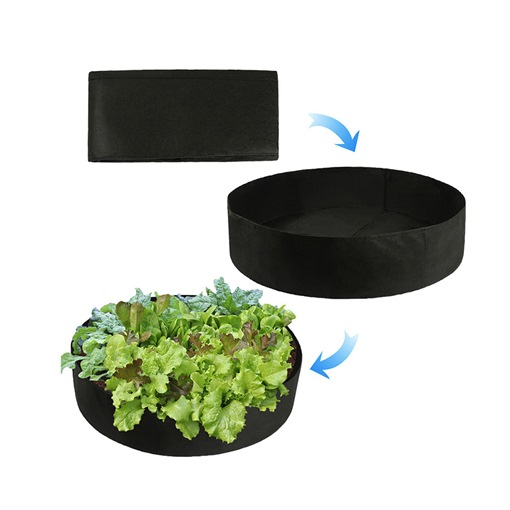 Grow Bags Felt Planting Barrel Round Planting Bag