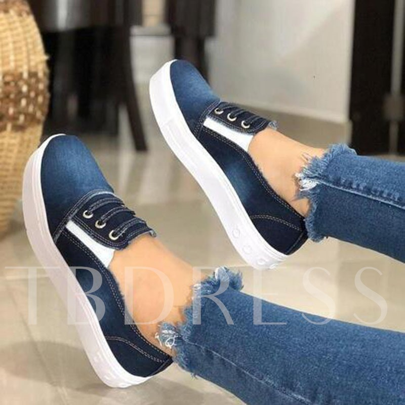 Flat With Platform Slip-On Round Toe Casual Thin Shoes