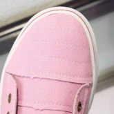 Zipper Round Toe Flat With Slip-On Low Heel (1-3cm) Thin Shoes