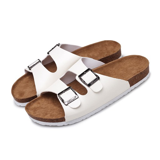 Summer Casual Buckle Plain Slippers