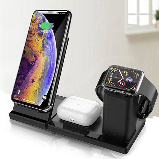 Mobile Phone Wireless Multifunctional Magnetic Three-In-One Charger