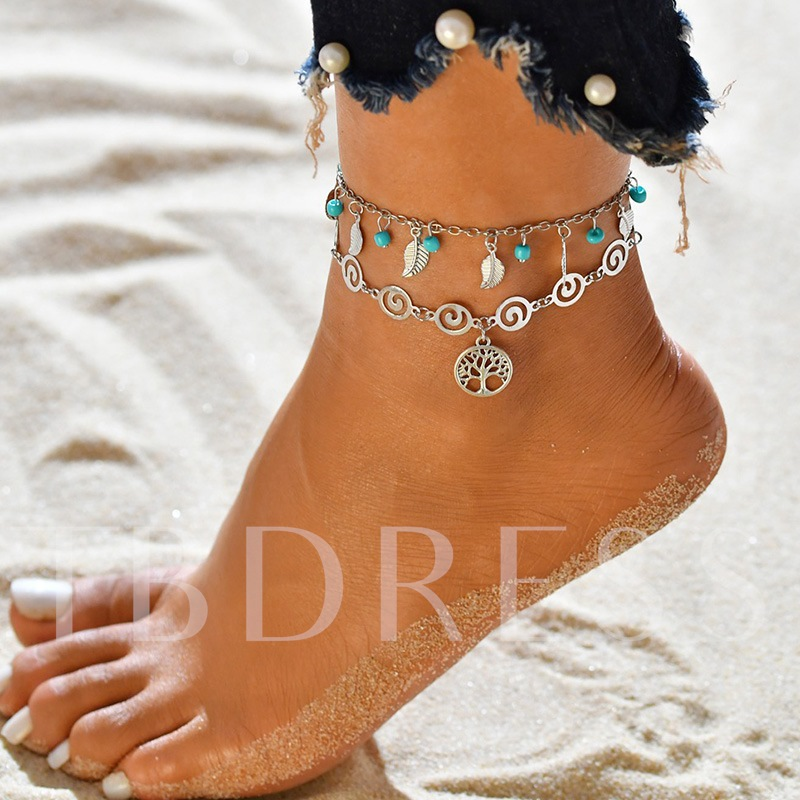 Animal Female E-Plating Anklets Anklets