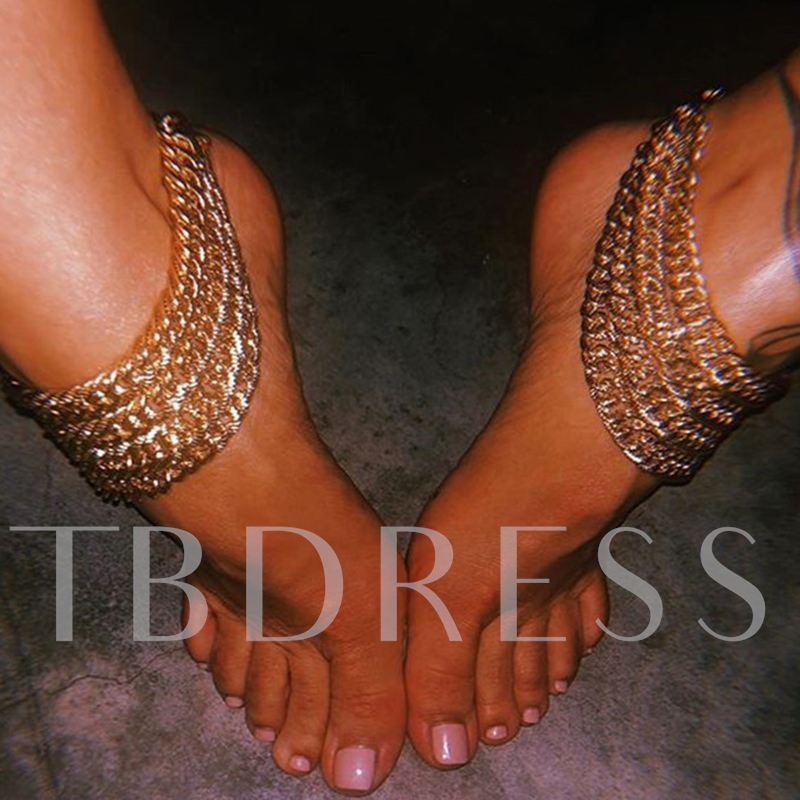 European Geometric Female Anklets Anklets