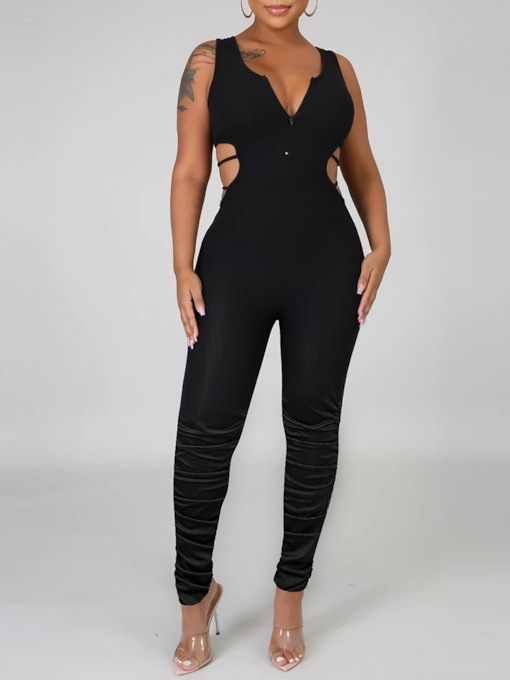 Sexy Full Length Skinny Women's Jumpsuit