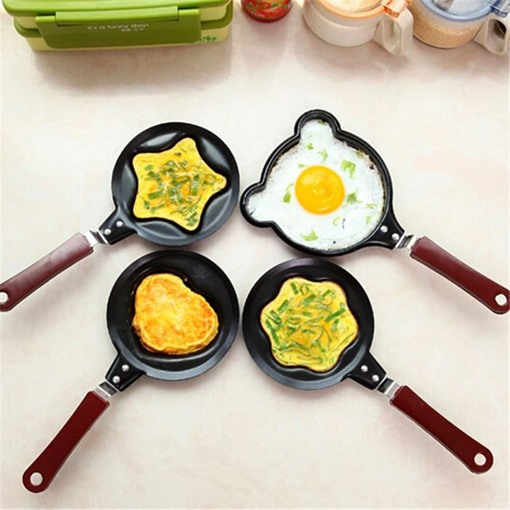 Creative Non-Stick Pan Egg Rings Stainless Steel Egg Mold