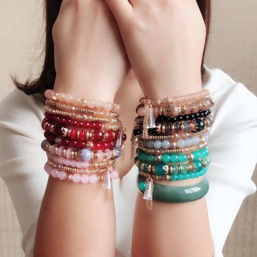 Women E-Plating Bohemian Female Bracelets