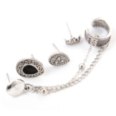 Vintage Alloy E-Plating Prom Earrings