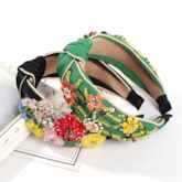 Floral Hairband Sweet Prom Hair Accessories