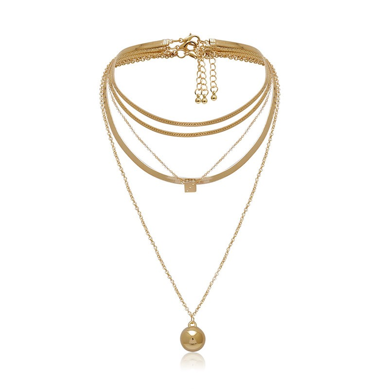 Female Vintage Pendant Necklace E-Plating Female Necklaces