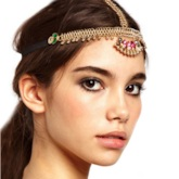 Head Chain Vintage Diamante Party Hair Accessories