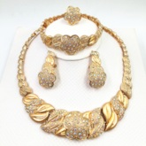 Diamante Vintage Bangle Birthday Jewelry Sets