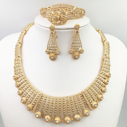 Earrings Diamante Vintage Prom Jewelry Sets