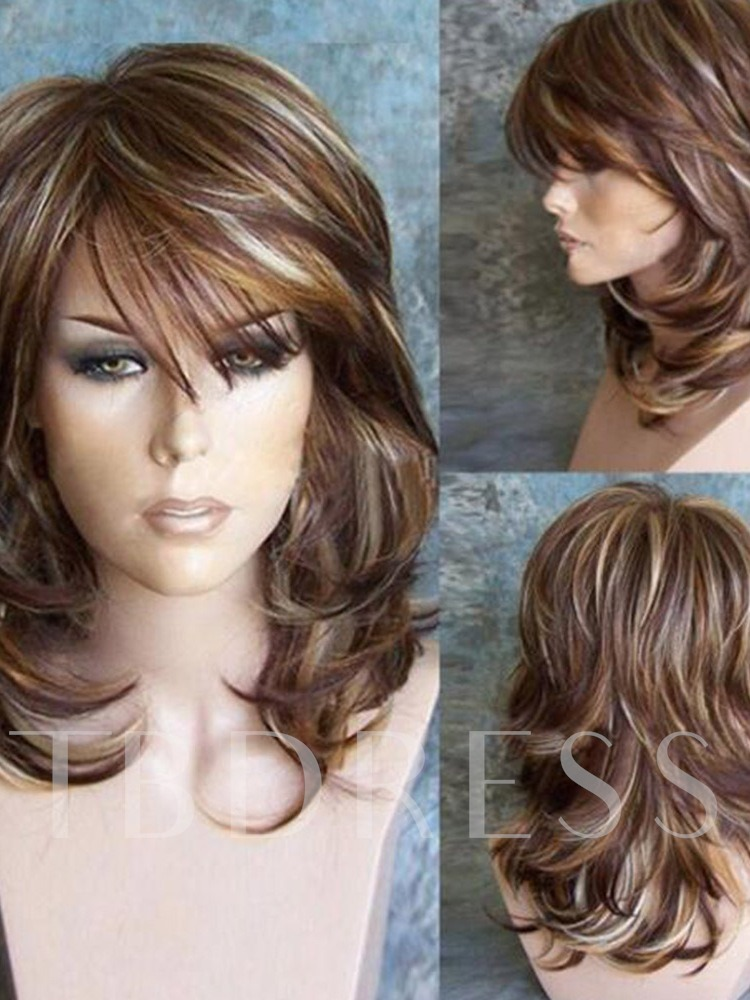 Synthetic Hair Kinky Curly 26 Inches Capless Wigs