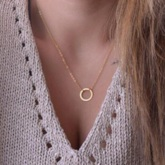 European Pendant Necklace E-Plating Gift Party Female Necklaces