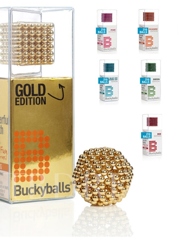 Decompression Rubik's Cube Magnetic Desktoys Buckyballs
