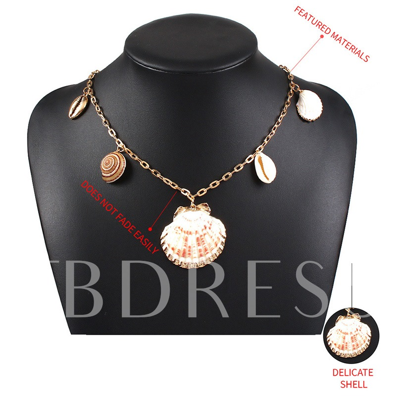 Fashion European Pendant Necklace E-Plating Female Necklaces